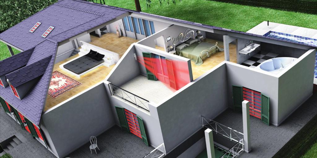 Antifurti Tecnoalarm Torino: Barriere a Infrarossi