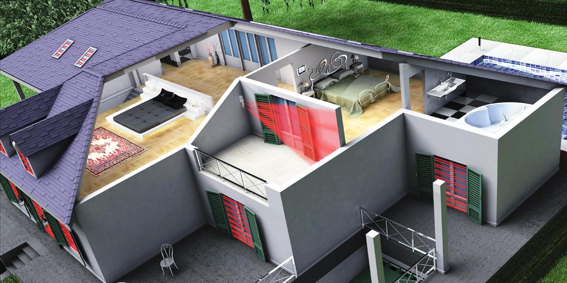 Antifurti tecnoalarm torino antifurti torino tecnoalarm - Antifurti per casa wireless ...