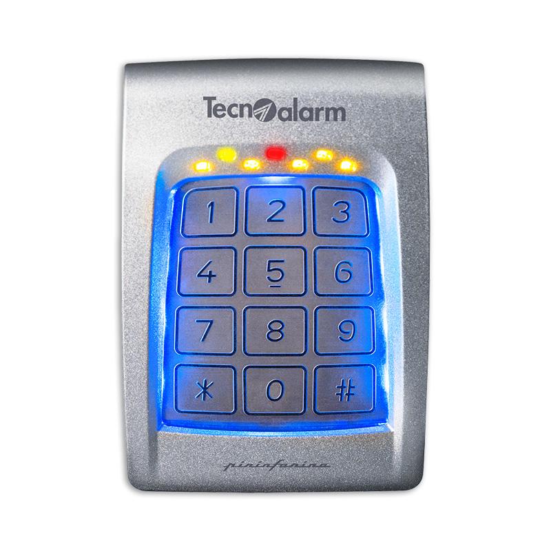 Dispositivi comando antifurti tecnoalarm torino for Planimetrie personalizzate