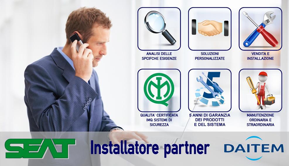 Servizi Antifurti Senza Fili Daitem Torino-Installatore Partner Autorizzato Daitem Torino
