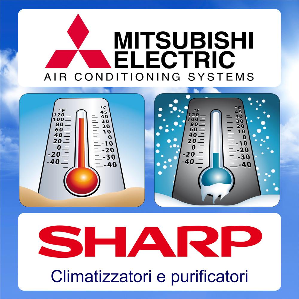 Condizionatore--Mitsubishi--Electric-Sharp-Torino